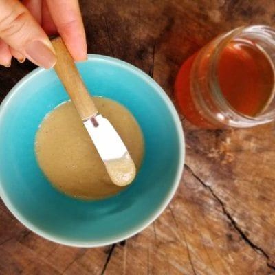 Pastinha de tahine com mel