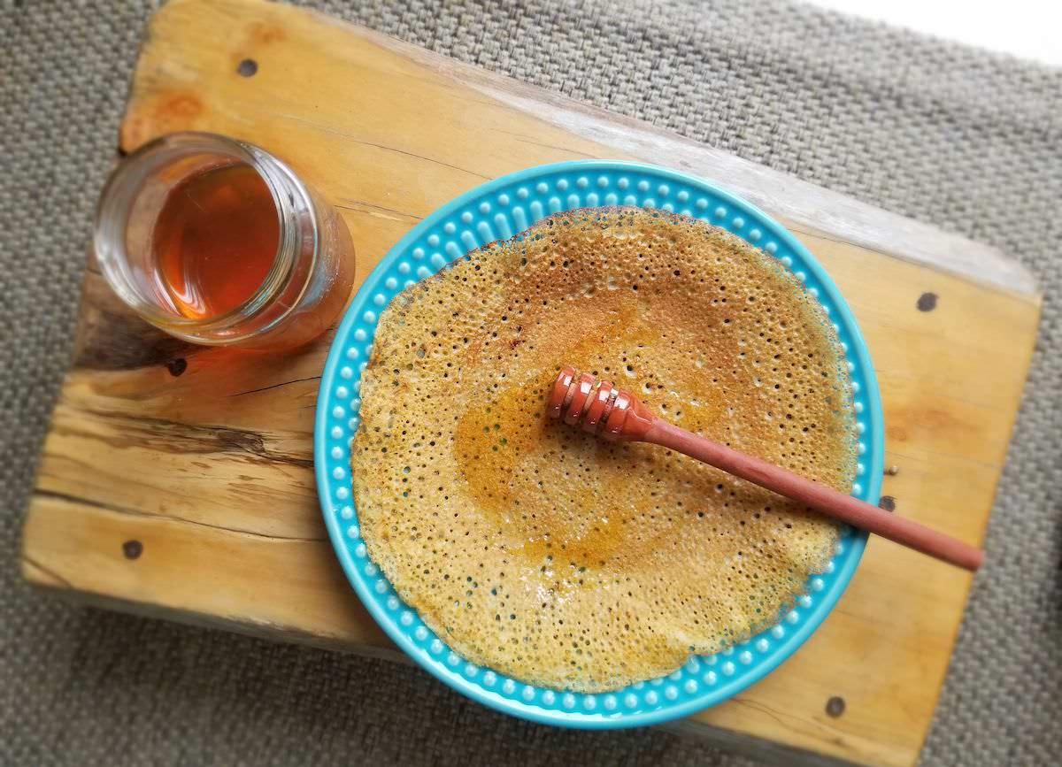 Panqueca de trigo sarraceno