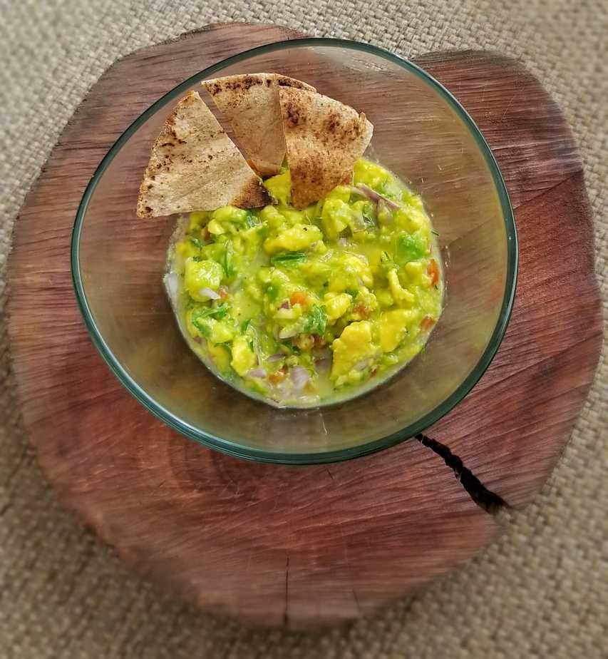 Receita de guacamole simples